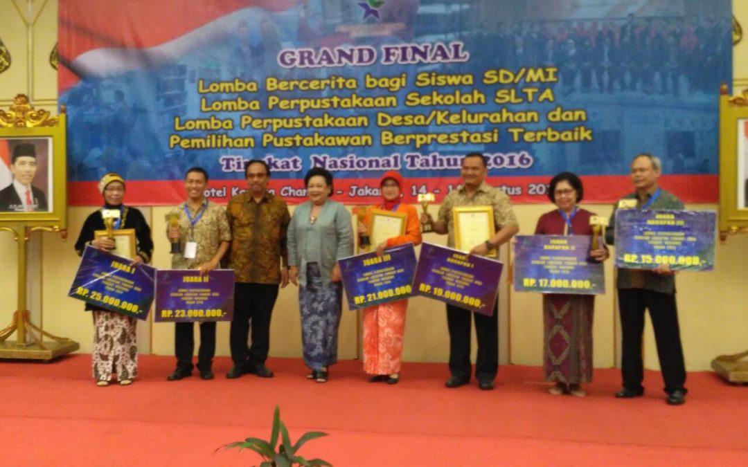 Pengumuman 10 Nominator Lomba Perpustakaan Sekolah (SLTA) Provinsi Jawa Timur 2017