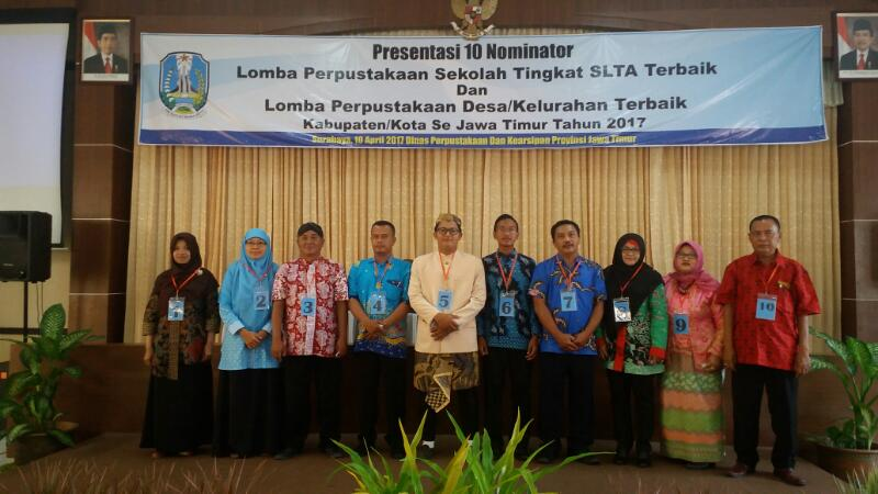 Penilaian Pemenang Lomba Perpustakaan  Sekolah (SLTA) Provinsi JawaTimur 2017